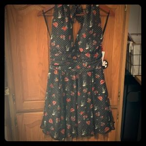 Hot Topic Pinup Sailor Dress